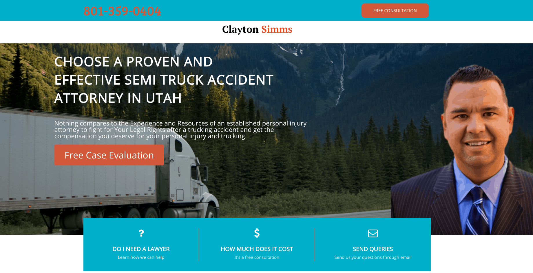 469 Custom Website Design and Clayton Simms